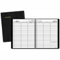 "Weekly Appointment Book, 14 Month Jul-Aug, 8-1/4""x10-7/8"", Black"