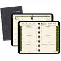 "AT-A-GLANCE® Recycled Weekly/Monthly Appointment Book, Black, 4 7/8"" x 8"", 2015"
