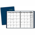 AT-A-GLANCE® Monthly Planner, 6-7/8 x 8-3/4, Navy, 2015