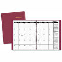 AT-A-GLANCE® Monthly Planner, 6-7/8 x 8-3/4, Winestone, 2015