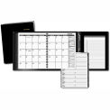 "AT-A-GLANCE® Plus Monthly Planner, Black, 6 7/8"" x 8 3/4"", 2015"