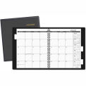 "AT-A-GLANCE® Three-Year Monthly Planner, Jan.-Dec., Black, 9"" x 11"", 2015-2017"