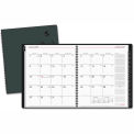 AT-A-GLANCE® Contemporary Wire-bound Monthly Planner, 9 x 11, Black, 2015