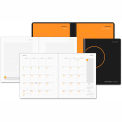 "AT-A-GLANCE® Monthly Planner And Notebook, 9-1/2"" x 11"", Black, 2015-2016"