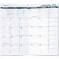 AT-A-GLANCE® Recycled Monthly Planner Refill, 3-1/2 x 6-1/8, 2015-2016