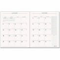 AT-A-GLANCE® Recycled Executive Monthly Padfolio Refill, 9 x 11, 2015-2016