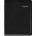 "AT-A-GLANCE® Triple View Weekly/Monthly Appointment Book, Black, 8 1/4"" x 10 7/8"", 2015"
