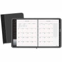 "AT-A-GLANCE® Executive Monthly Planner, Black, 6 7/8"" x 8 3/4"", 2015"