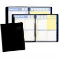 "AT-A-GLANCE® QuickNotes Recycled Weekly/Monthly Appointment Book, Black, 8"" x 9 7/8"", 2015"
