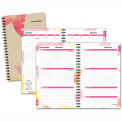 AT-A-GLANCE® Watercolors Weekly/Monthly Planner, 5-1/2 x 8-1/2, Floral Cover, 2015