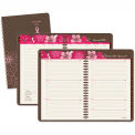 AT-A-GLANCE® Sorbet Weekly/Monthly Planner, 4-7/8 x 8, Brown, 2015