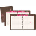 AT-A-GLANCE® Sorbet Weekly/Monthly Planner, 8-1/4 x 10, Brown, 2015