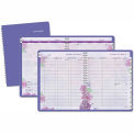 AT-A-GLANCE® Beautiful Day Professional Weekly/Monthly Appt Book, 8-1/2 x 11, Purple, 2015