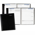 DayMinder® Executive Weekly/Monthly Planner, 6 7/8 x 8 3/4, Black, 2018
