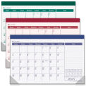 "AT-A-GLANCE® Monthly Desk Pad 1/8"" x 17-13/16"" x 11"" Assorted"
