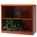 2-Shelf Bookcase - Cherry
