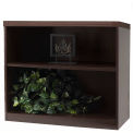 2-Shelf Bookcase - Mocha