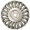 Medium Face Standard Twist Knot Wire Wheels-TS & TSX Series, ANDERSON BRUSH 13605, CTN of 5