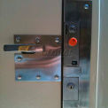 Bike Locker Option-Coin Operated Locks With Locking Bar System