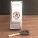 "Bike Locker Option-Stainless Steel High Security ""T"" Handle Locks W/3 User Keys On 350 Series"