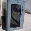 """Bike Locker Option-Window In Locker Door 16"""" x 36"""", Acrylic"""