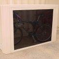 Bike Locker Option-Outside Walls On 302, 301, 301P, 301W & 301V Lockers, Includes Both Outside Walls