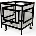 AC-Guard™ Air Conditioner Mega Cage Unit Kit, - MACGU KIT, Steel, Black
