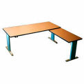 Infinity™ Powered Height Adjustable Right Return Desk - Maple