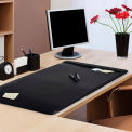 Advantus® Leatherlike Desk Pad with Side Panels - Pkg Qty 4