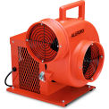 """Allegro High Output Electric Blower 9504-50, 8"""" Dia., 3/4HP, 1570 CFM, Cage Enclosed"""