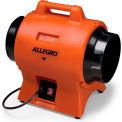 "Allegro Industrial Blower 9539-08, 8"" Dia., 1/3HP, 865 CFM"