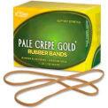 "Alliance® Pale Crepe Gold® Rubber Bands, Size # 117B, 7"" x 1/8"", Natural, 1/4 lb. Box"