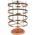 """Antique Style Earring Display, 8"""" W x 10"""" H, Metal, Copper"""