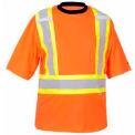 Viking® 6000O Hi-Vis Safety Poly/Cotton Lined T-Shirt, Orange, L