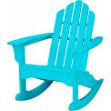Hanover All-Weather Adirondack Rocking Chair in Aruba