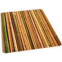 Aleco® Bamboo Design Hard Floor Office Chair Mat 36 x 48 Rectangle, Beveled Edge