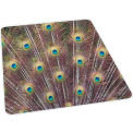 Peacock Design Hard Floor Chairmat 46 x 60 Rectangle, Crystal Edge