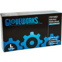 Ammex® Gloveworks Powdered Industrial Grade Nitrile Gloves, Large, 100/Box, 10 Box/CS