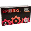 Ammex® Gloveworks Powder-Free Industrial Grade Nitrile Gloves, Large, 100/Box, 10 Box/CS