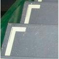 Photoluminescent Aluminum 'Left' L-Shaped Step Marker