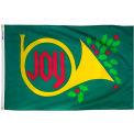 3X5 Ft. 100% Nylon Joy Horn Flag