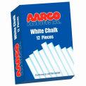 Aarco White Chalk 12 Boxes - Pkg Qty 2