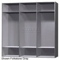 12 x 15 x 60 Phenolic Locker, Cubbie Locker Ebony Granite