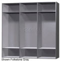 12 x 18 x 60 Phenolic Locker, Cubbie Locker Graphite Grafix