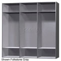 15 x 15 x 60 Phenolic Locker, Cubbie Locker Dove Gray