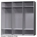 15 x 15 x 60 Phenolic Locker, Cubbie Locker Graphite Grafix