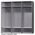 15 x 15 x 72 Phenolic Locker, Cubbie Locker Ebony Granite