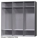 15 x 18 x 60 Phenolic Locker, Cubbie Locker Ebony Granite