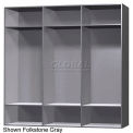 18 x 18 x 60 Phenolic Locker, Cubbie Locker Ebony Granite