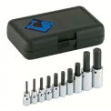 """10 Piece 3/8"""" & 1/2"""" Dr. Hex Bit Socket Sets, ARMSTRONG TOOLS 15-430"""